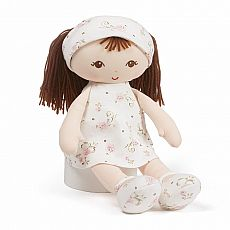Little Me Doll Brunette 13""