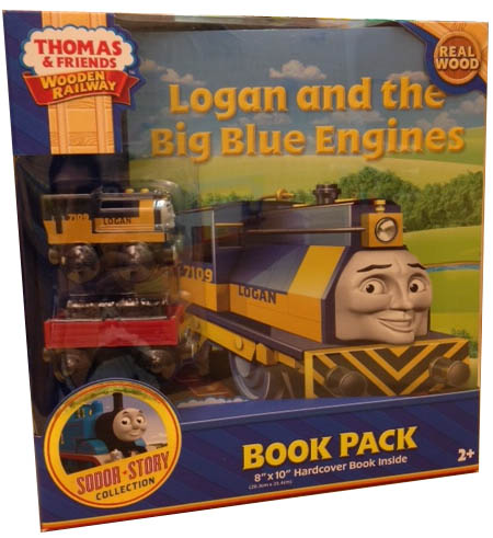 Logan and the Big Blue Engines Book Pack - Totally Thomas Inc.