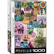 LIFE Magazine & Iconic Photography Puzzles - 60s Love Collection by Baron Wolman