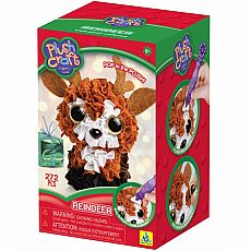 PlushCraft Mini 3D Reindeer
