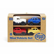 Mini Vehicle Set 4-pack