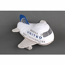 United Airlines Plush Toy with Sound