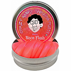 "2"" Thinking Putty - Neon Flash - Hypercolor"