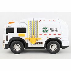 NYC Sanitation Garbage Truck with Lights & Sounds