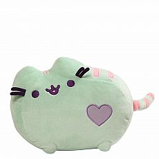 "Pastel Heart Pusheen 12"" - Mint"