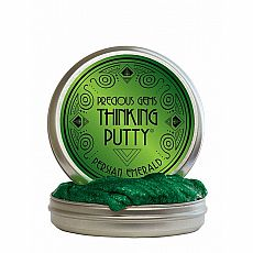 "4"" Thinking Putty - Persian Emerald - Precious Metal"