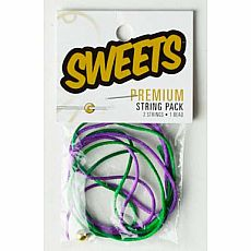 Sweets Premium String Pack - Green/Purple