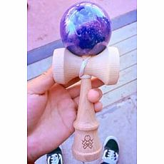 F3 Haze Kendama - Purple/Silver - F3 TOUR EXCLUSIVE!