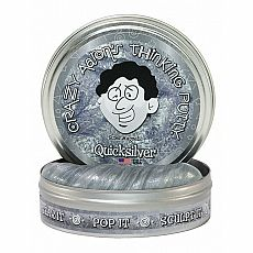 "4"" Thinking Putty - Quicksilver - Super Magnetic"