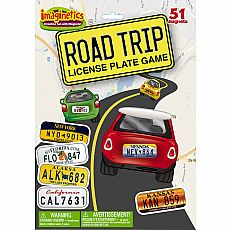 Imaginetics Road Trip License Plate Game