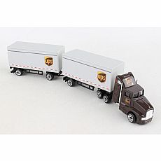 UPS Tandem Tractor Trailer