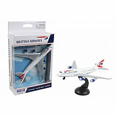 British Airways Single Plane
