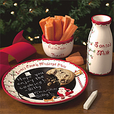 Santa's Message Plate