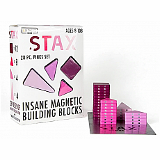 Stax Magnetic Building Blocks - Pinks