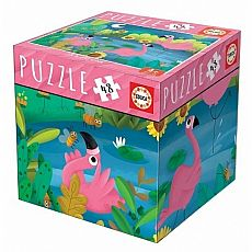 Flamingos 48-pc Jigsaw Puzzle
