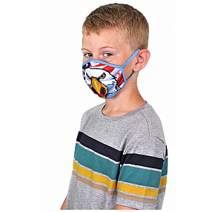 Wild Smiles Face Mask - Child - Eagle