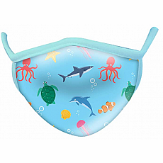Wild Smiles Face Mask - Child - Aquatic