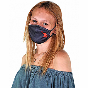 Wild Smiles Face Mask - Child - Black