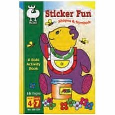 Buki Activity Book - Sticker Fun Shapes & Symbols