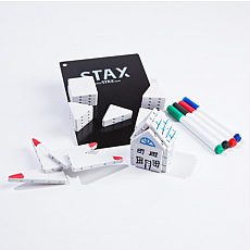 Stax Magnetic Building Blocks - Dry Erase