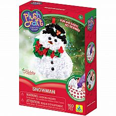 PlushCraft Snowman Ornament
