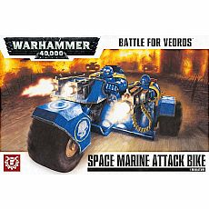 Warhammer 40,000 Battle for Vedros Space Marine Attack Bike