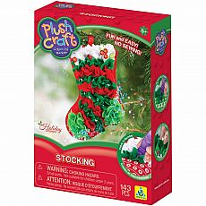 PlushCraft Stocking Ornament