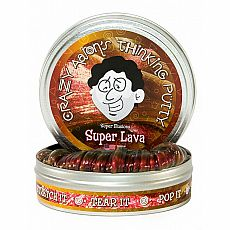 "4"" Thinking Putty - Super Lava - Super Illusion"