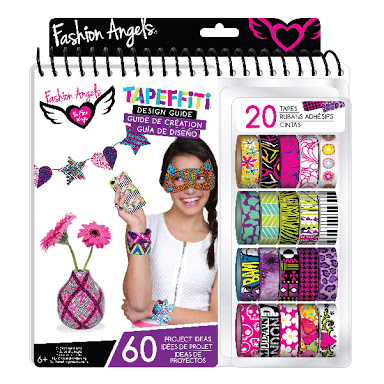 Tapeffiti Design Guide From Fashion Angels And Totally Thomas Inc