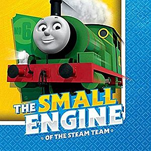 Thomas All Aboard Beverage Napkins