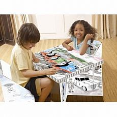 Thomas & Friends ColorMe Table & Chair Set