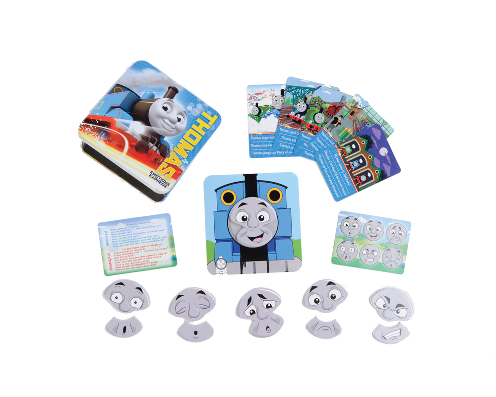 Thomas Emotions Express 21-pc Magnetic Play-and-Learn Tin