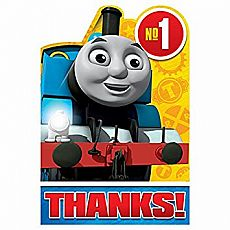 Thomas All Aboard Thank You Cards