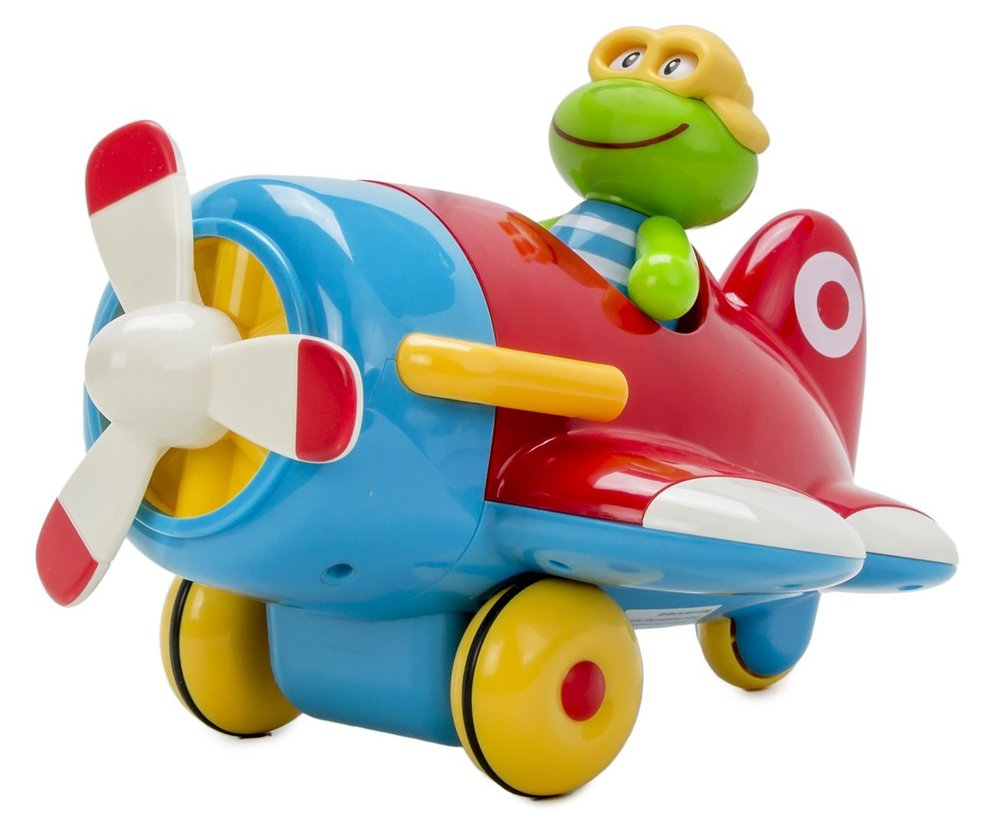 Early Learning Centre Toybox Frankie Frog & His Flying Machine ...