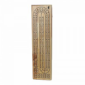 Double-Track Cribbage Board