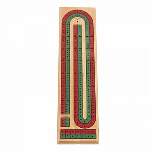 2-Track Color Cribbage Board