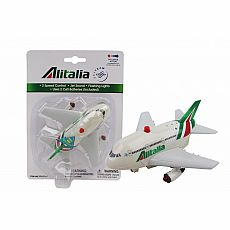 Alitalia Pullback with Light & Sound