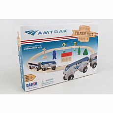 Amtrak Wooden Railway