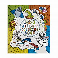 Wipe-Off Coloring Book - 1-2-3 Boy